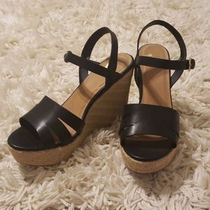 Espadrilles wedge sandals